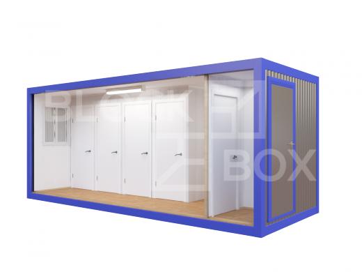 Блок-контейнер №5 сантехнический — дополнительное фото 1