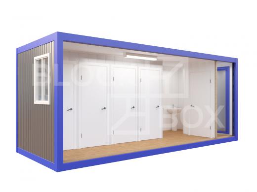 Блок-контейнер №5 сантехнический — дополнительное фото 3