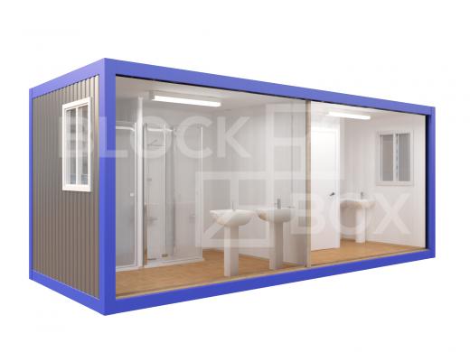 Блок-контейнер №6 сантехнический — дополнительное фото 2
