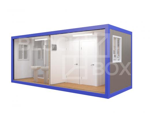 Блок-контейнер №6 сантехнический — дополнительное фото 3