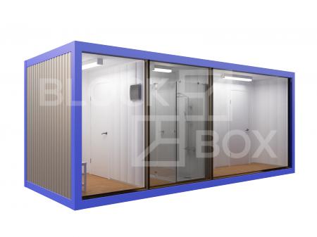 Блок-контейнер №7 сантехнический — дополнительное фото 2