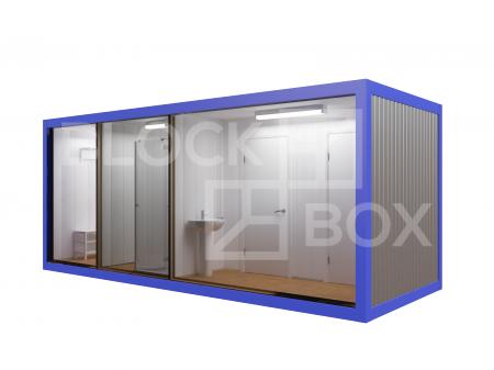 Блок-контейнер №7 сантехнический — дополнительное фото 3