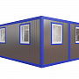 Модульное здание столовая — миниатюра 2
