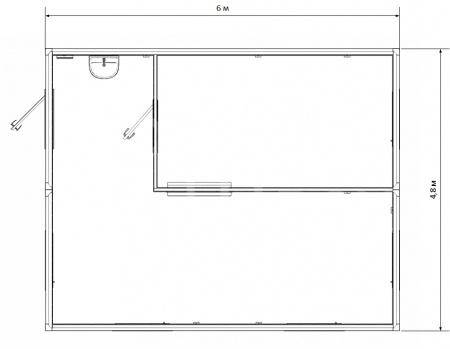 Модульное здание столовая — дополнительное фото 3
