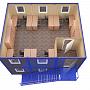 Модульное здание универсальное №6 из профлиста — миниатюра 3
