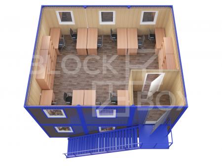 Модульное здание универсальное №6 из профлиста — дополнительное фото 3
