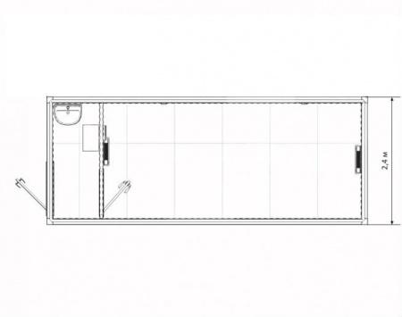 Блок-контейнер сушилка — дополнительное фото 3
