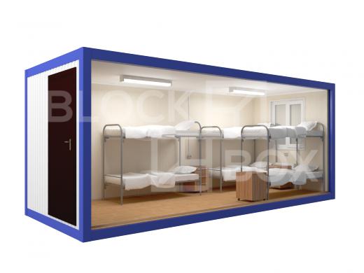 Блок-контейнер универсальный №1 из профлиста — дополнительное фото 2