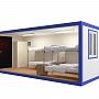 Блок-контейнер универсальный №1 из профлиста — миниатюра 3