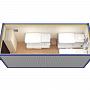 Блок-контейнер универсальный №1 из профлиста — миниатюра 4