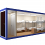 Блок-контейнер универсальный №2 из профлиста — миниатюра 2