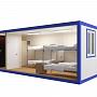 Блок-контейнер универсальный №2 из профлиста — миниатюра 3