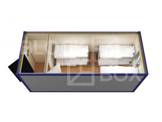 Блок-контейнер универсальный №3 из профлиста — дополнительное фото 4