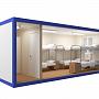 Блок-контейнер универсальный №4  из профлиста — миниатюра 2