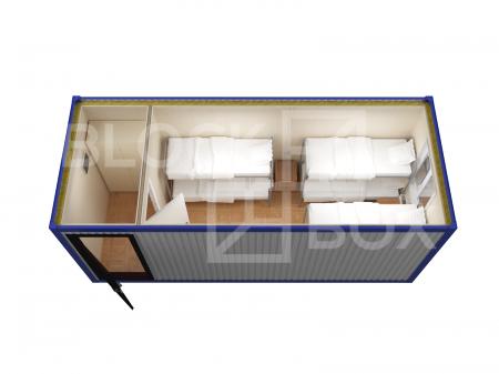 Блок-контейнер универсальный №4  из профлиста — дополнительное фото 4