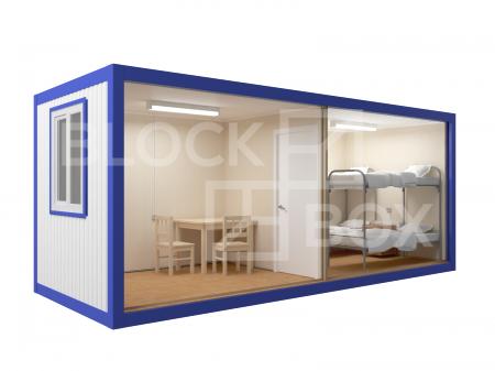 Блок-контейнер универсальный №5 из профлиста — дополнительное фото 2