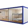 Блок-контейнер универсальный №5 из профлиста — миниатюра 3