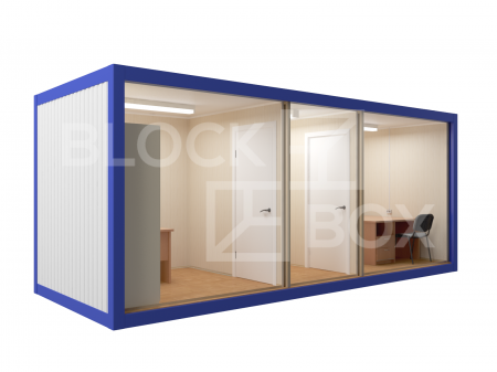 Блок-контейнер универсальный №6  из профлиста — дополнительное фото 2