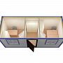 Блок-контейнер универсальный №6  из профлиста — миниатюра 4