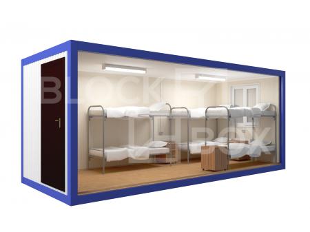 Блок-контейнер №1 из профлиста — дополнительное фото 2