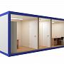 Блок-контейнер №3 из профлиста — миниатюра 2