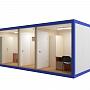 Блок-контейнер №3 из профлиста — миниатюра 3
