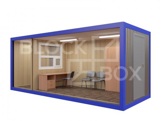 Блок-контейнер №3 из профлиста — дополнительное фото 2
