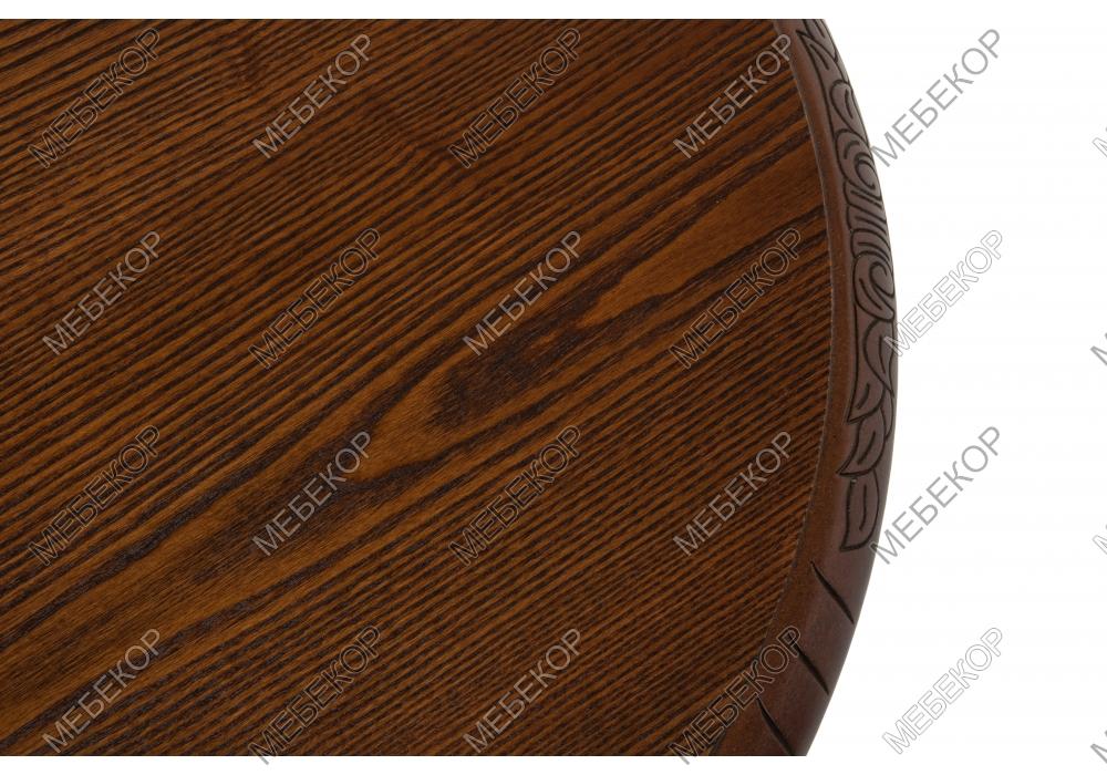 Журнальный стол Бернард орех с коричневой патиной Woodville