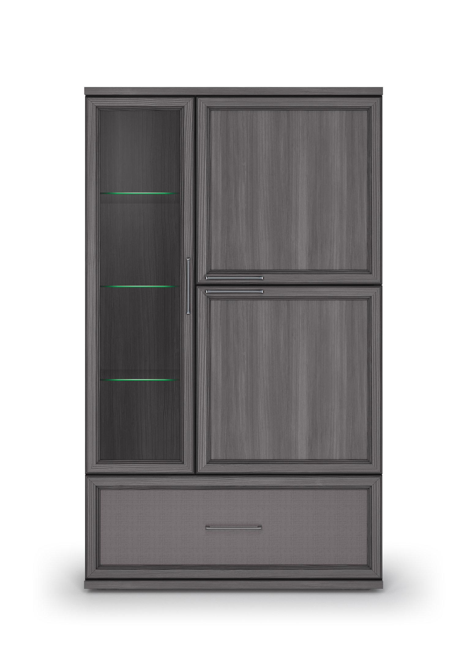 Шкаф 950 с 1 ящиком «Палермо» Кураж