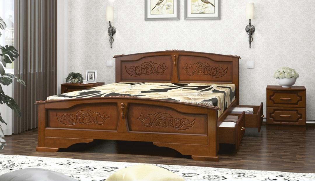 Кровать «Елена с ящиками» Bravo