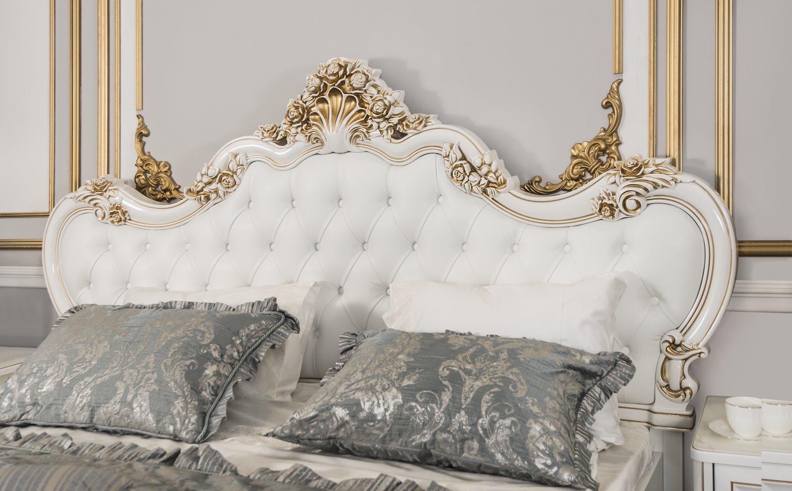 Кровать «Натали» с мягким изголовьем ЭРА