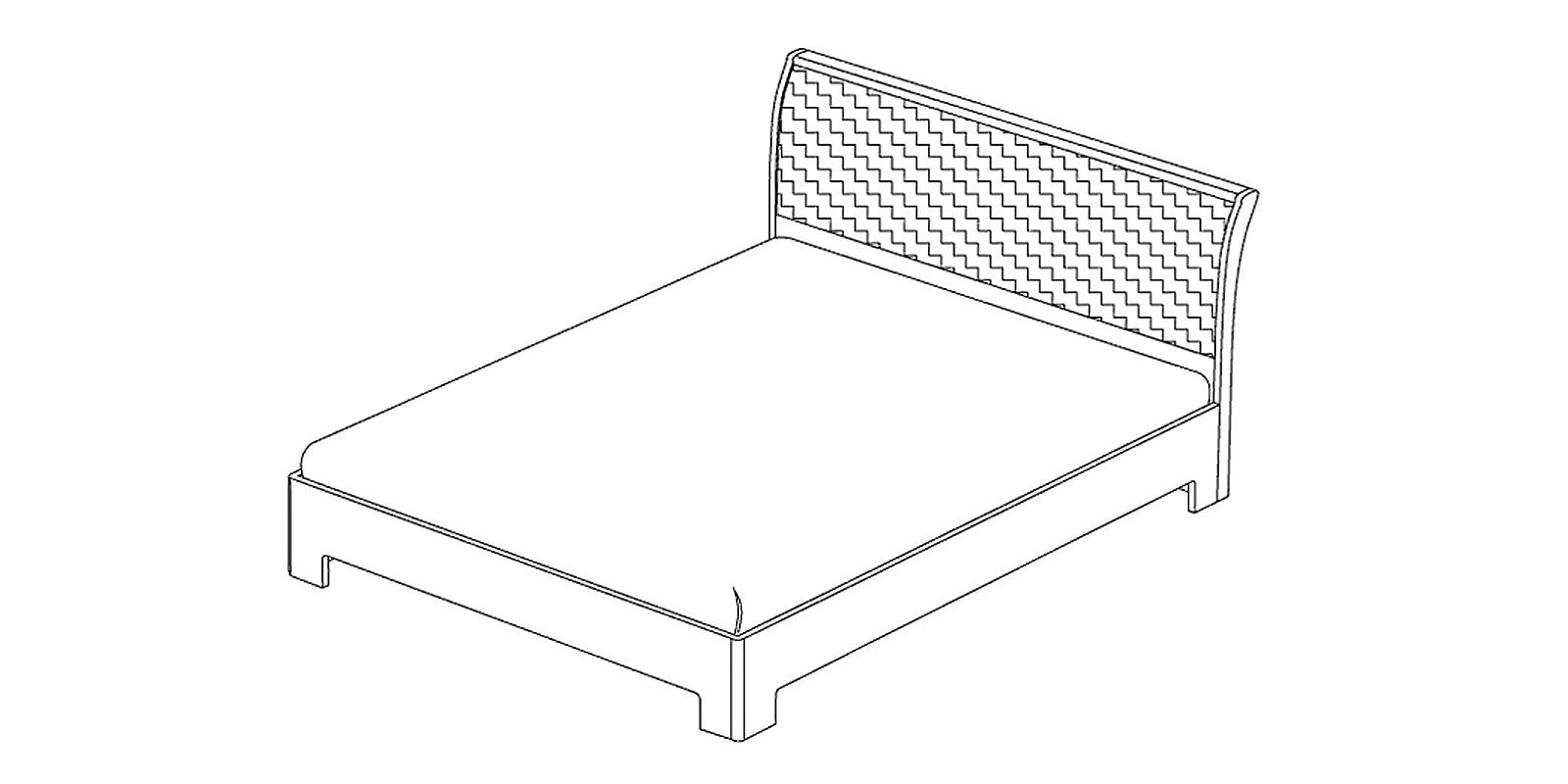 Кровать-3 с ортопедическим основанием «Сорренто» Кураж