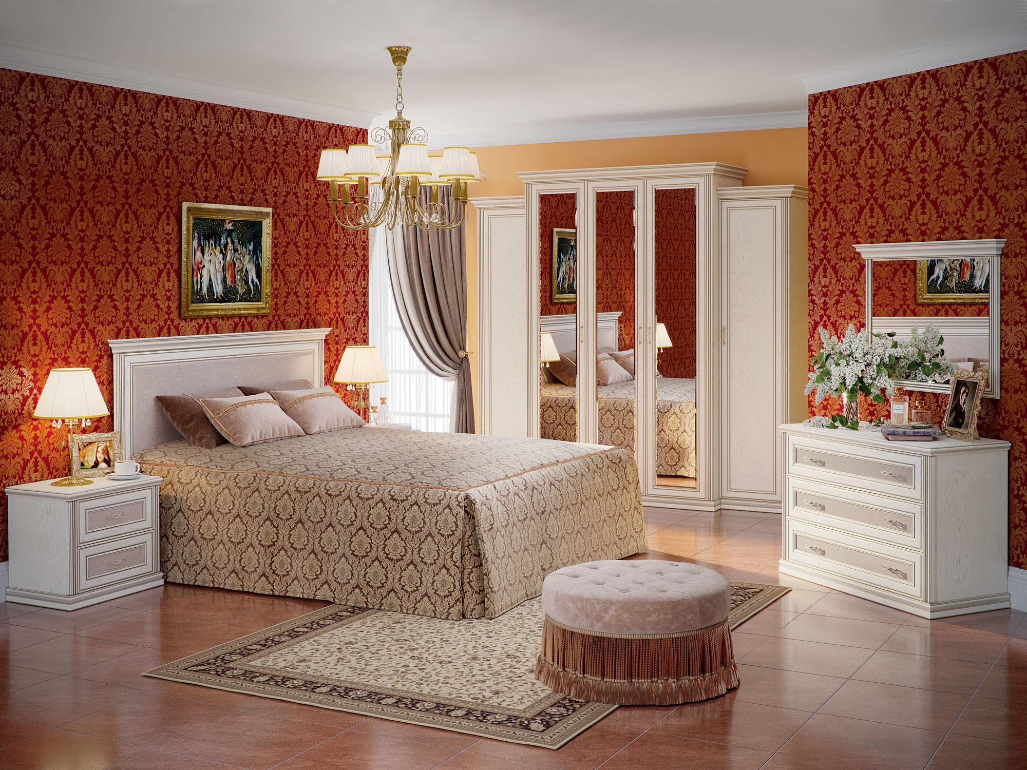 Шкаф пятидверный (корпус, малые боковые двери в комплекте) «Венето» Кураж