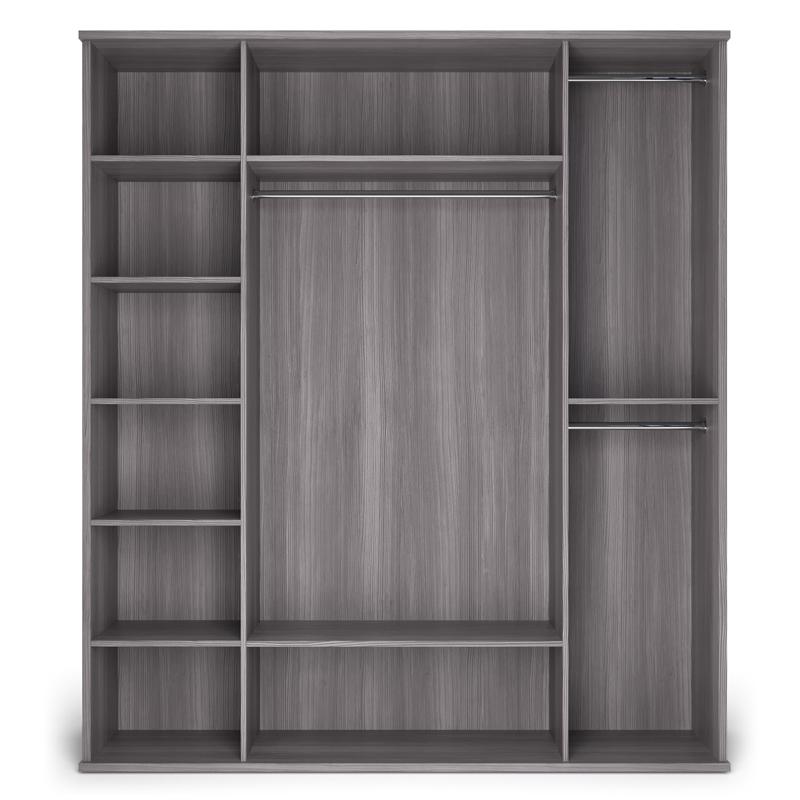 Шкаф четырехдверный (корпус) «ПАРМА НЕО» Кураж