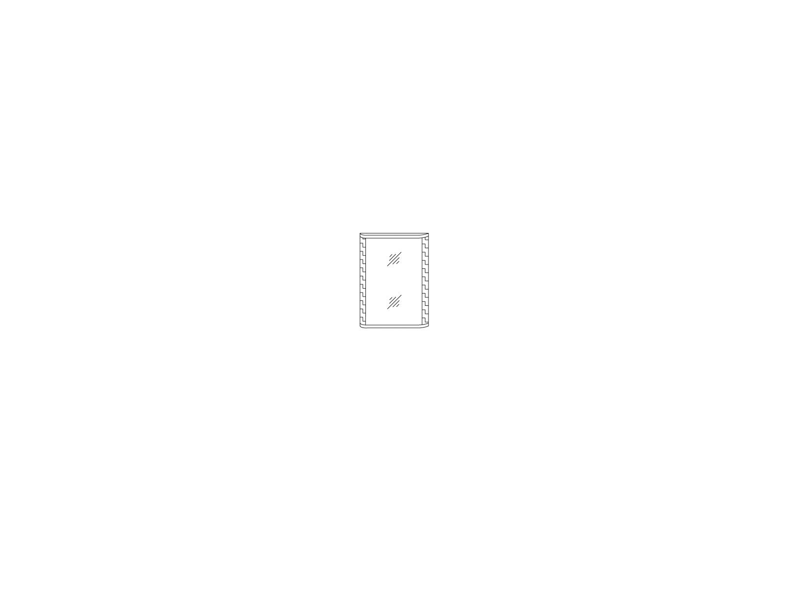 Зеркало «СОРРЕНТО» Кураж