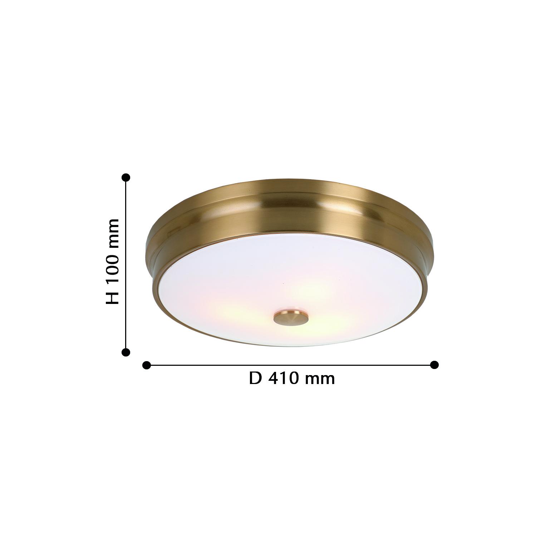 Потолочные светильники 2375-3C Pannikin Favourite