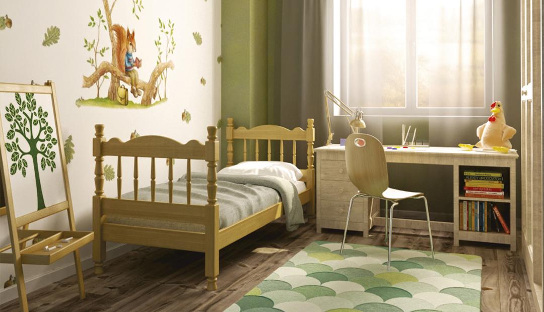 Кровать «Аленка одинарная» Bravo