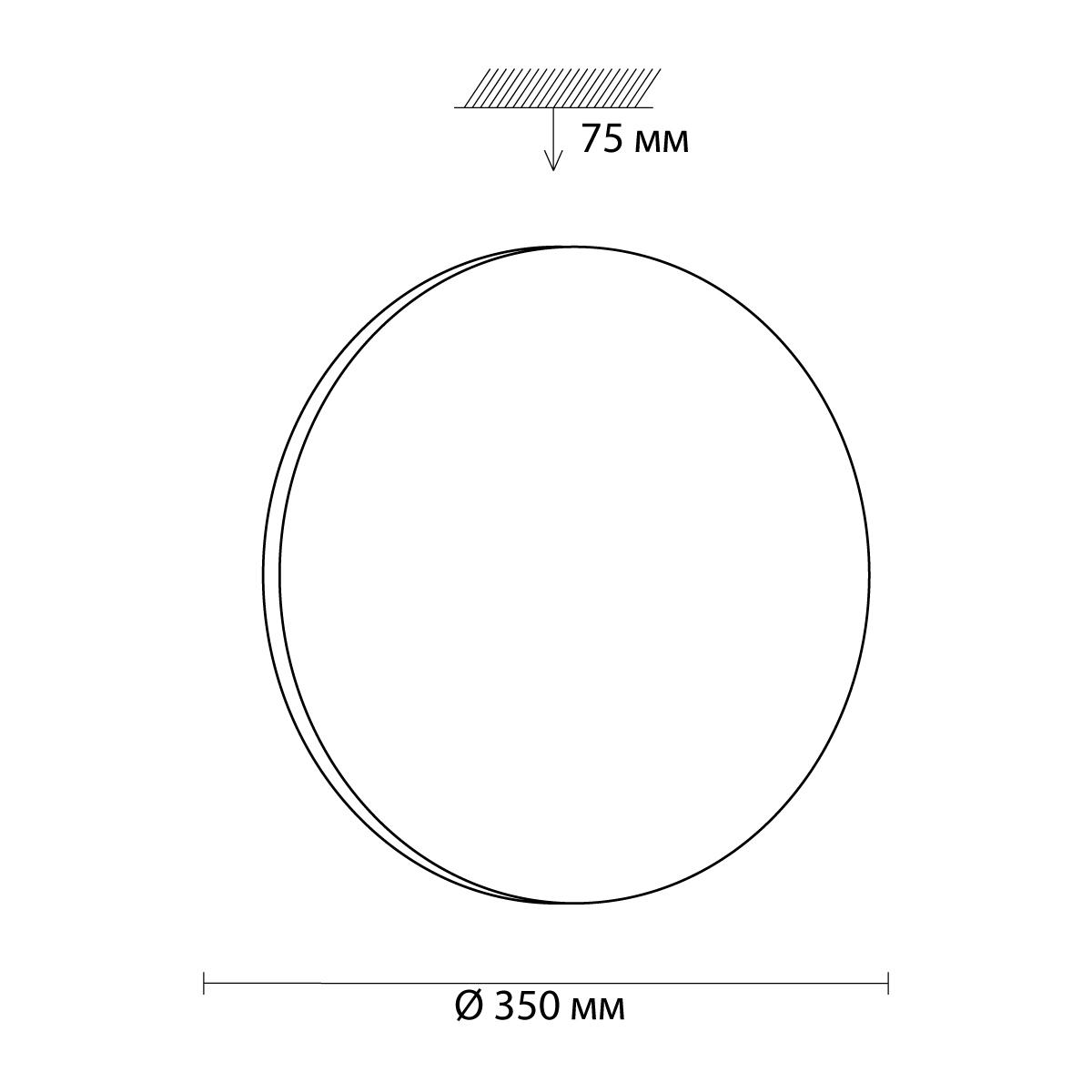 Потолочные светильники 3017/CL SIMPLE Sonex