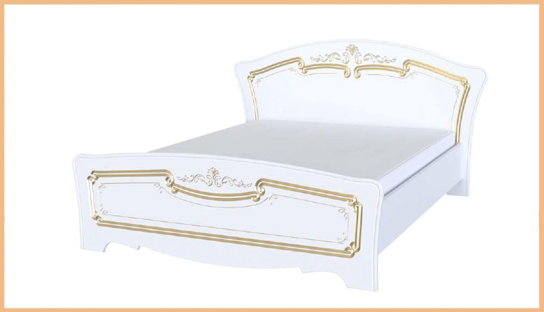 Кровать двойная «Магия» лак Bravo