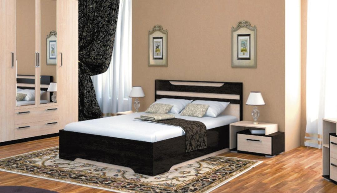Кровать «Прага» одинарная Bravo