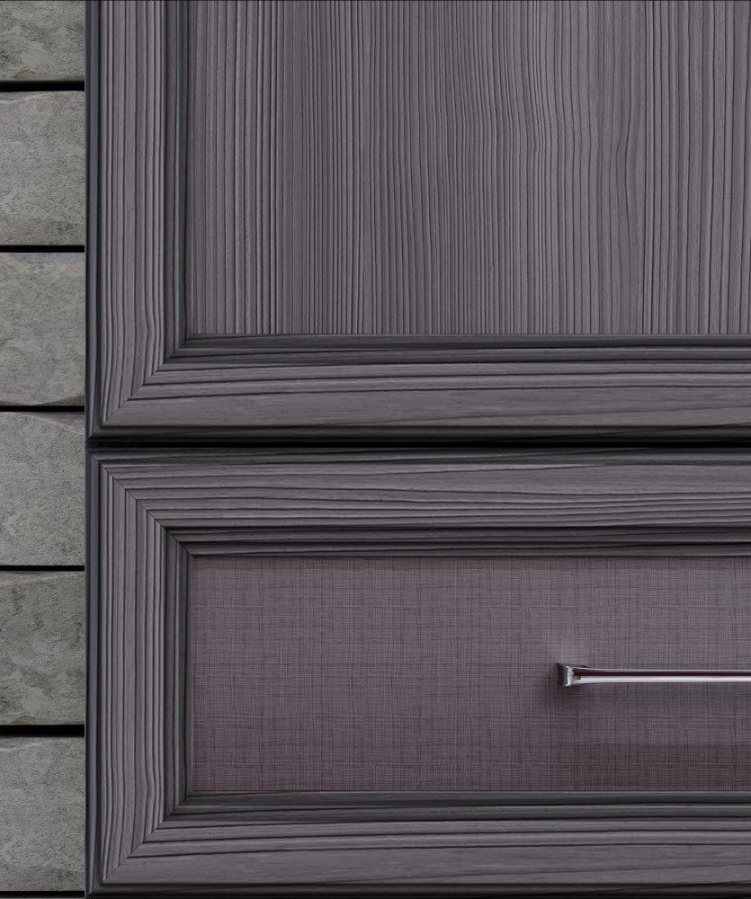 Полка 4-х дверная (2 стеклодвери) «Палермо» Кураж