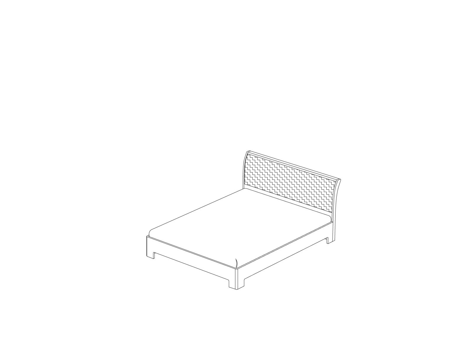Кровать-3 с ортопедическим основанием «Прато» Кураж