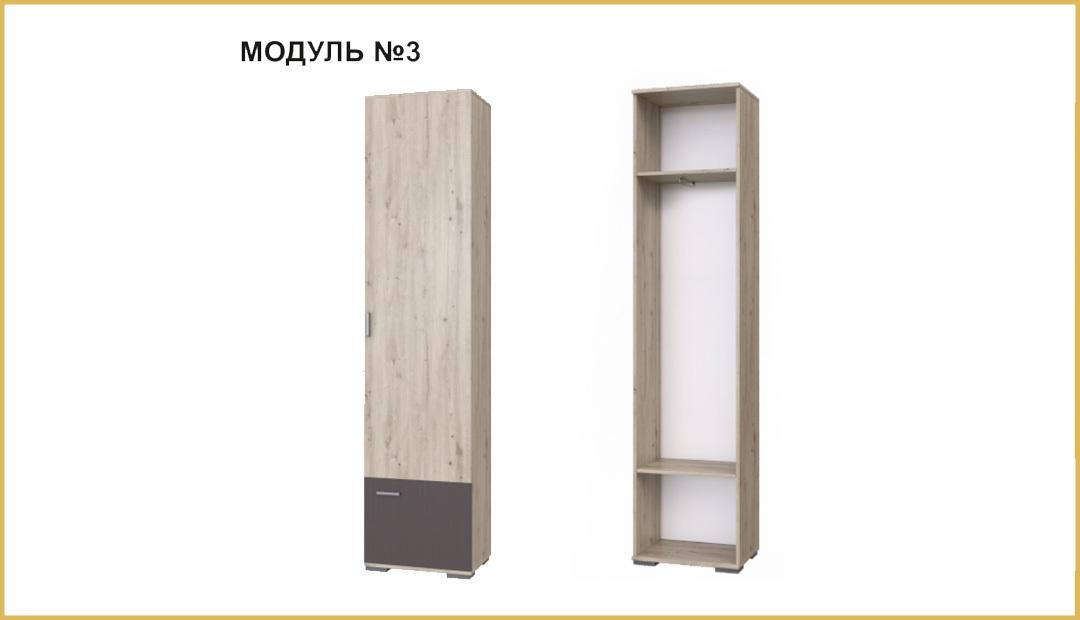 Модуль №03 шкаф «Имидж» Bravo