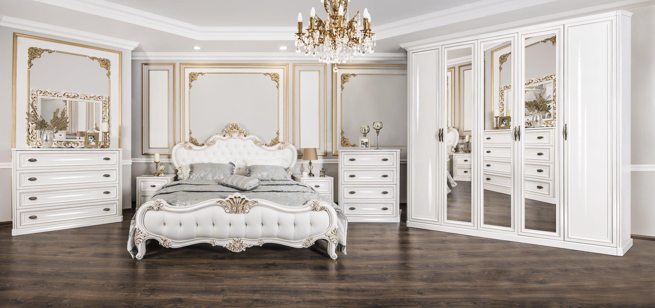 Шкаф пятидверный с зеркалами «Натали» ЭРА