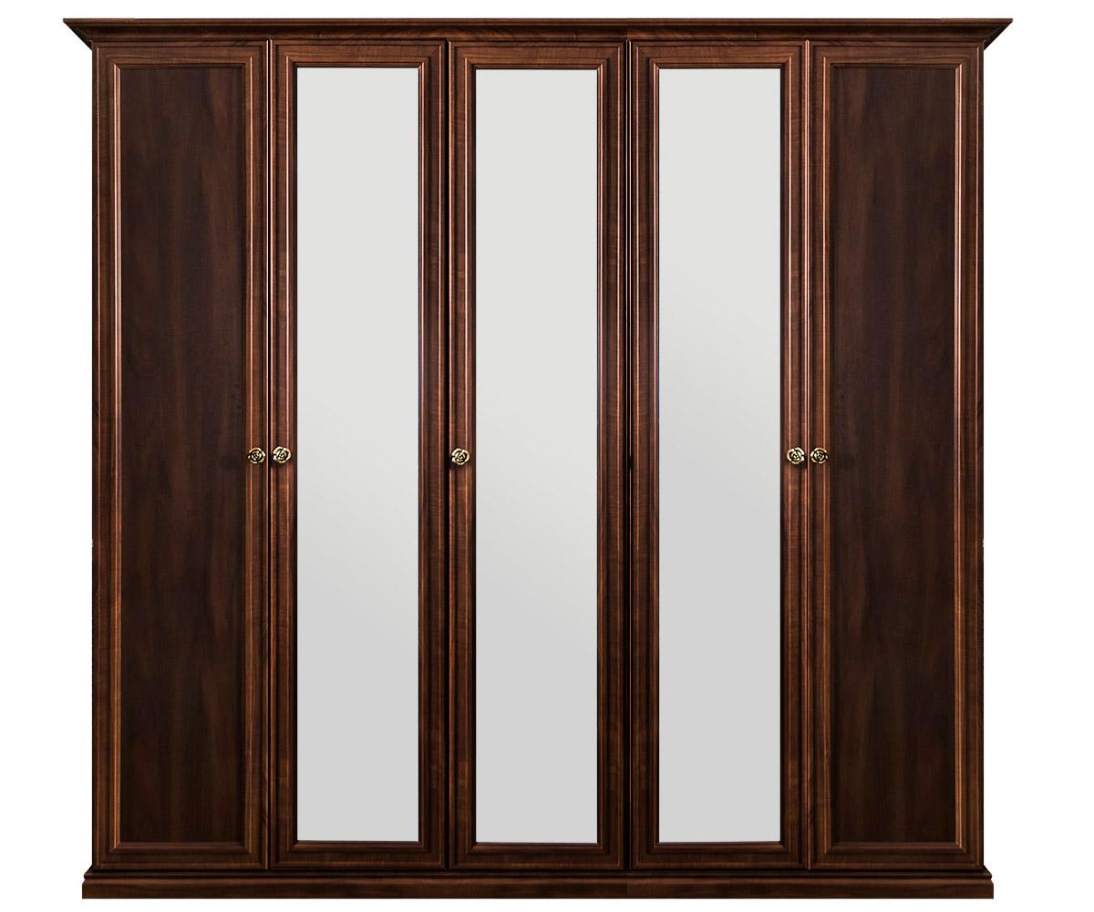 Шкаф пятидверный с зеркалом «Афина» ЭРА