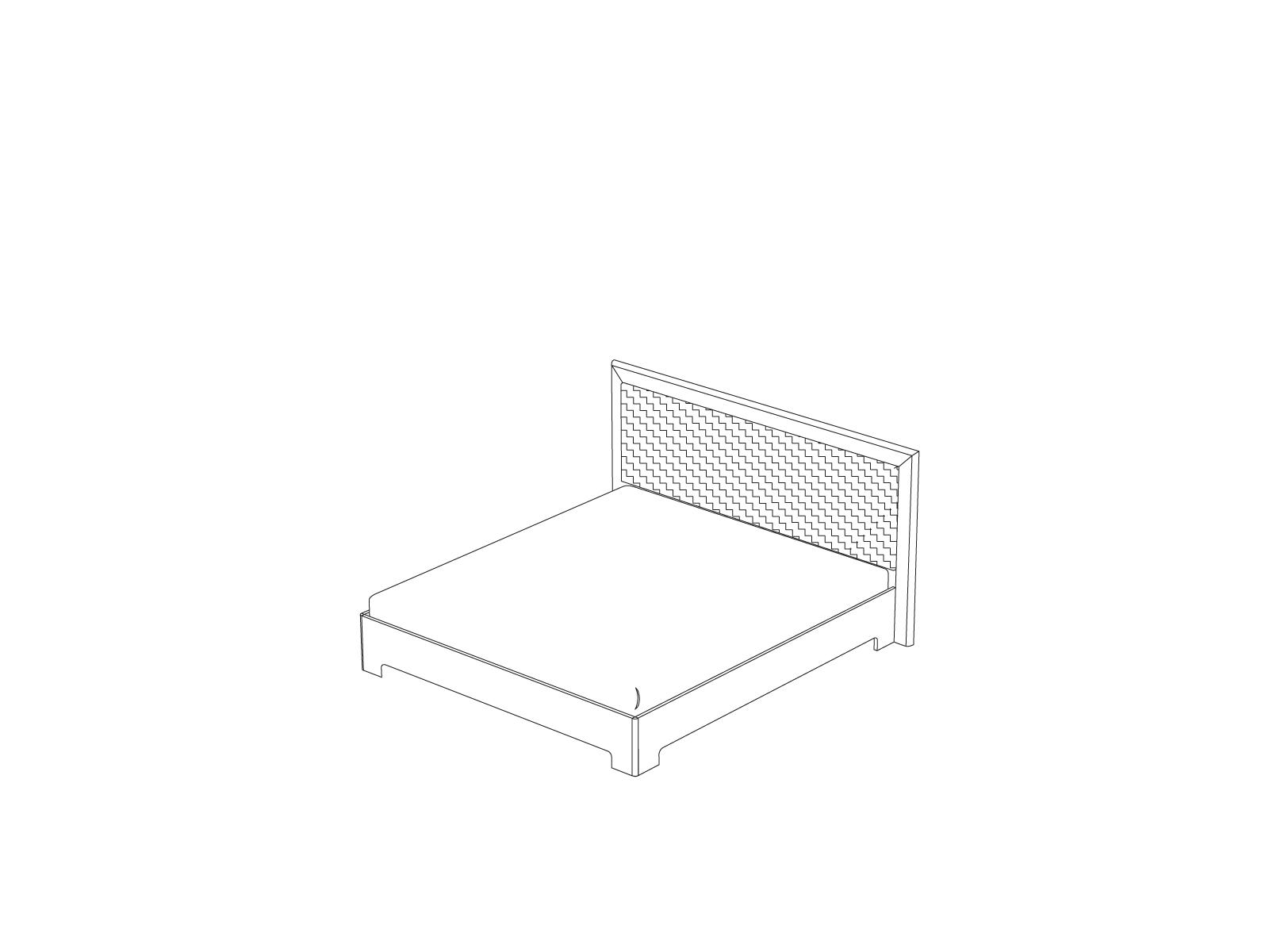 Кровать-1 с ортопедическим основанием «Прато» Кураж