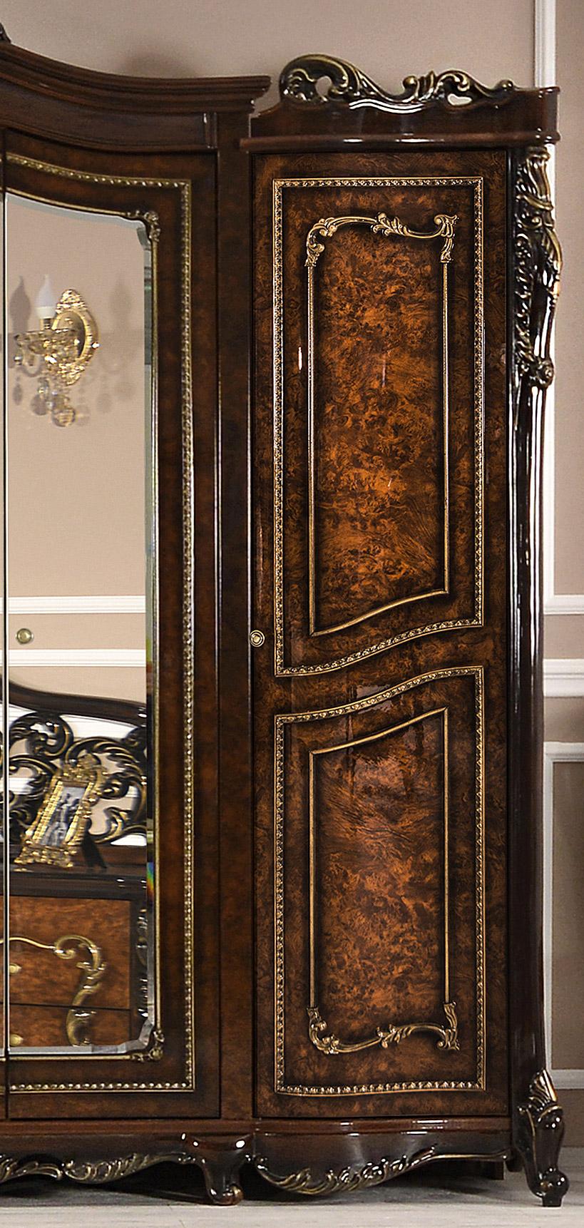 Шкаф трехдверный с зеркалом «Джоконда» ЭРА