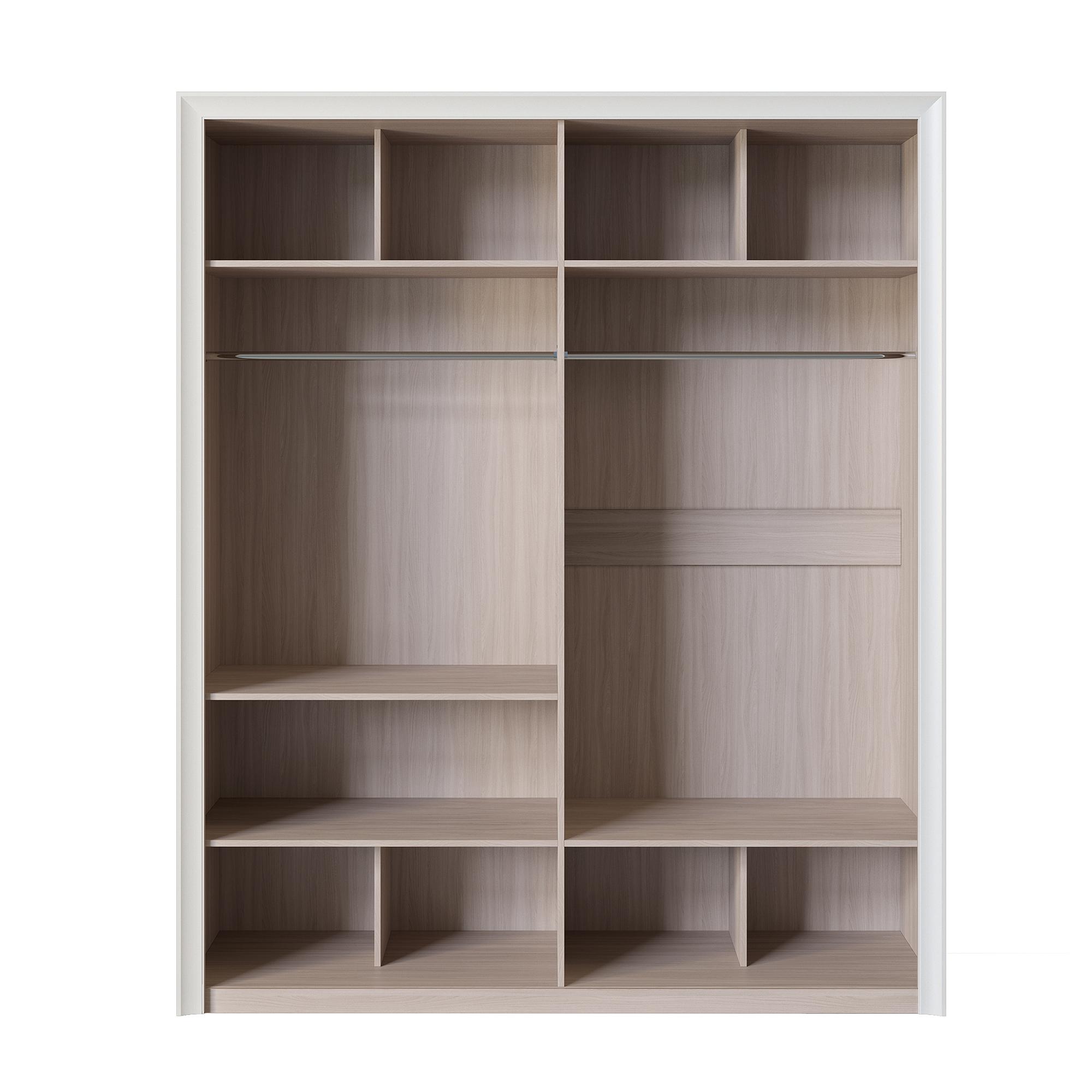 Шкаф четырёхдверный (корпус) «Прато» Кураж