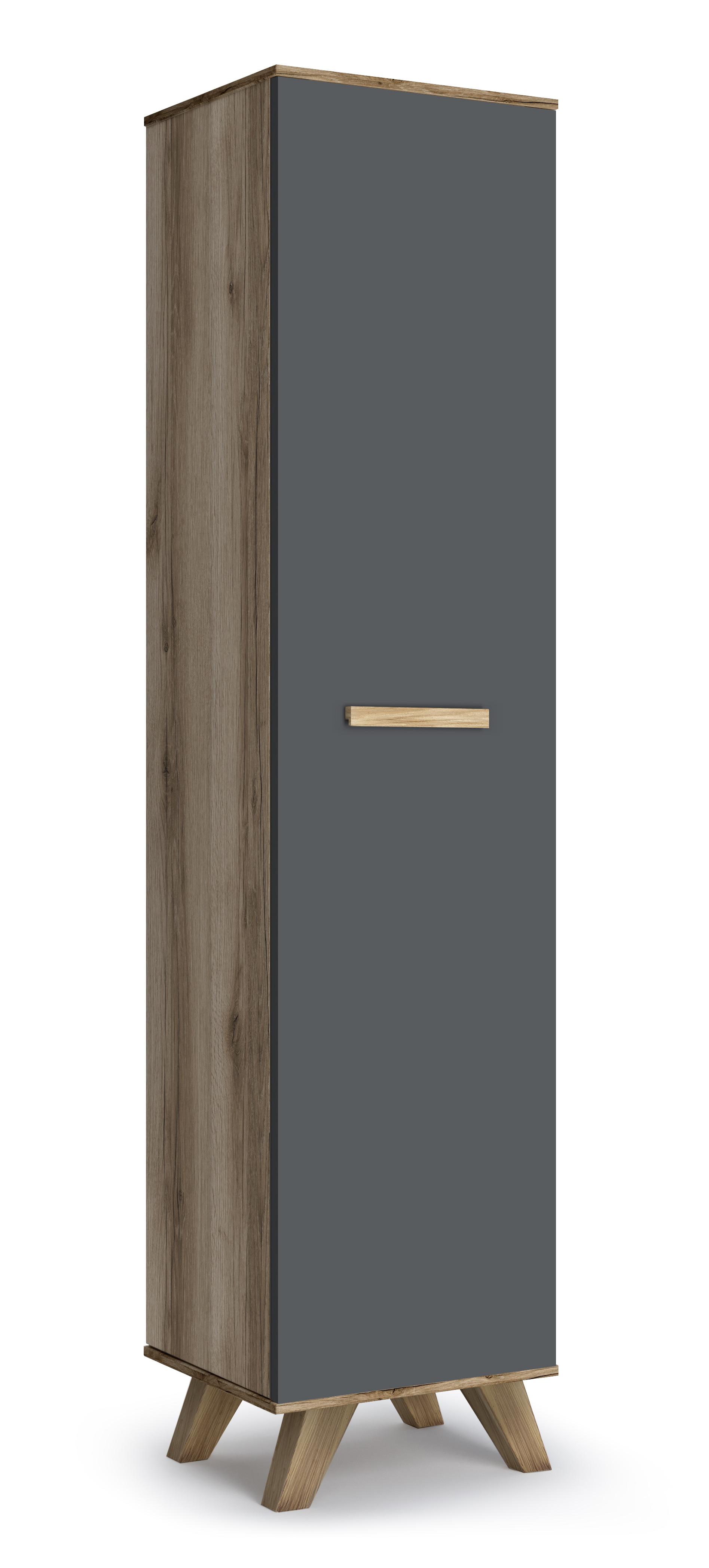 Шкаф 400 «Вега Скандинавия» (силк флай) Кураж