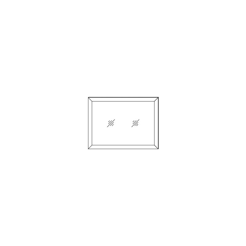 Зеркало над комодом «ВЕГА ПРОВАНС» Кураж